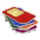 SIM karty, kupóny