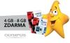Olympus rozdává k fotoaparátům paměťové karty