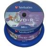 Verbatim DVD+R 4,7GB, 16x, 50cake