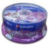 Verbatim DVD+R DualLayer, 8,5GB, 8x, printable, 25cake