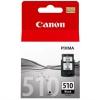 Inkoustová náplň Canon PG-510Bk, 220 stran černá