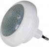 EMOS do zásuvky, 8 x LED s PIR čidlem