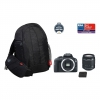 Canon 100D + 18-55 DC III + LP-E12 + EG300