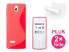 Connect IT pro Nokia 515 + 2ks ochranná fólie