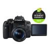 Canon 750D + 18-55 IS STM + ramenní popruh JOBY Zdarma