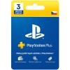 Sony PlayStation Plus Card 90 dní - pouze pro CZ P...
