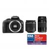 Canon 100D + EF-S 18-55 DC + 75-300 DC