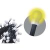 EMOS 80 LED, kulička, 8m, řetěz, teplá bílá, časovač,  i venkovní použití