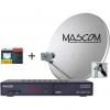 Mascom MS-2350/80MBL+M7, příjem 2 družic s kartou ...