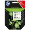 HP 950XL černá + 951XL azurová, purpurová a žlutá