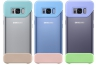 Samsung 2 dílný pro Galaxy S8 (3ks) - mint/modrá/violet
