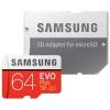 Samsung 64GB UHS-I U3 (100R/60W) + adapter