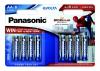 Panasonic AA, Spider-Man Edition, 4 + 4 zdarma
