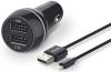 Philips DLP2357V, 2x USB, 3,1A + Lightning kabel