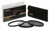 Polaroid 72mm (UV MC, CPL, ND9), set 3ks