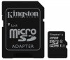 Kingston MicroSDHC 32GB UHS-I U1 (80R/10W) + adapter