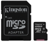 Kingston MicroSDXC 128GB UHS-I U1 (80R/10W) + adapter