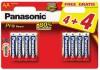 Panasonic Pro Power AA, 4+4 ks