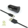 FIXED 1x USB, 2,4A + USB-C kabel