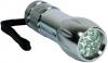 Camelion CT40044, kovová, 9x LED, mix barev (černá, stříbrná)