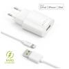 FIXED 1x USB, 2,4A + Lightning kabel