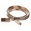 CellFish USB/micro USB, kovový, 1m
