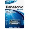 Panasonic Evolta AAA, LR03, blistr 2ks