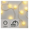 EMOS 40 LED světelný řetěz – kuličky 2,5cm, 4m, te...