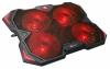 """C-Tech Zefyros, červené podsvícení, pro 17,3"""""""