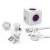 Powercube Rewirable USB+Travel Plugs+IEC...