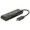 DeLock USB-C/SD, micro SD, xD, MS, CF