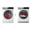 Set (Sušička prádla AEG AbsoluteCare® T8DFE68SC) +...