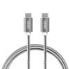 GND USB-C / USB-C 3.1, PD, 2m, opletený