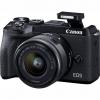 Canon M6 MARK II + EF-M 15-45 IS STM + EVF hledáček