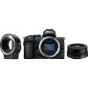 Nikon Z50 + 16-50 VR + adaptér bajonetu FTZ