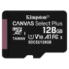 Kingston MicroSDXC 128GB UHS-I U1 (100R/10W)