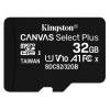 Kingston MicroSDHC 32GB UHS-I U1 (100R/10W)