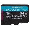 Kingston MicroSDXC 64GB UHS-I U3 (170R/70W)