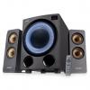 Fenda F&D F770X, 2.1, 76W, RGB, BT5.0, FM rádio, USB, optický vstup, dálkové ovládání