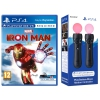 Sony Marvel's Iron Man VR + Move Twin Pack