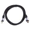 EMOS HDMI/HDMI 2.0, 1,5m, nylon, s ethernetem