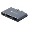 Canyon 2xUSB-C/Thunderbolt 3, HDMI 4K, USB 3.0, pro MacBook