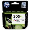 HP 305XL, 200 stran, CMY