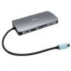 i-tec USB-C/3x USB 3.1, RJ45, 3,5mm jack, SD, Micr...