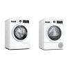 Set (Sušička prádla Bosch Serie | 8 WTX87MW0CS) + ...