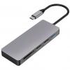 PLATINET USB-C/USB-C PD, HDMI, SD, Micro SD, 2x US...