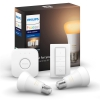 Philips 9W, E27, White Ambiance (2ks) + bridge + Switch
