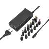 Avacom QuickTIP 65W pro notebooky, univerzální, 13 konektorů