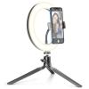 CellularLine Selfie Ring s LED osvětlením pro self...
