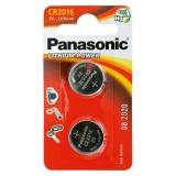 Baterie Panasonic CR2016 LITHI, 3V, 72mAh, CR2016/2BP